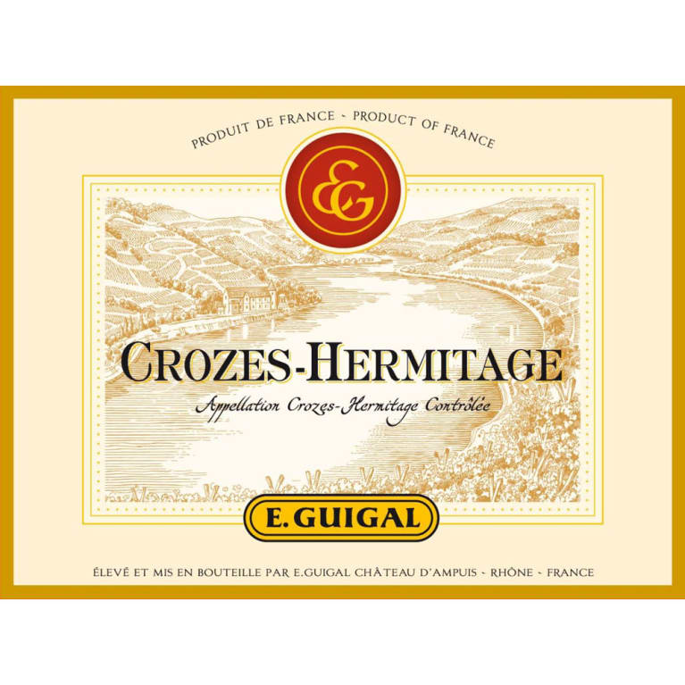 Guigal Crozes Hermitage 2015 Front Label