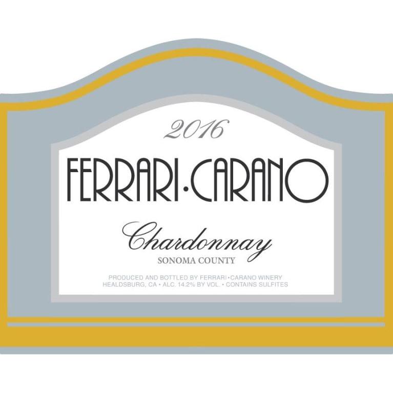 Ferrari Carano Chardonnay 2016 Wine Com