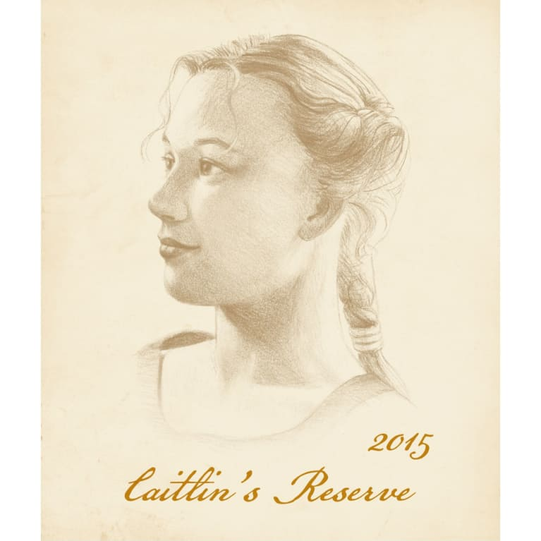Adelsheim Caitlin's Reserve Chardonnay 2015 Front Label