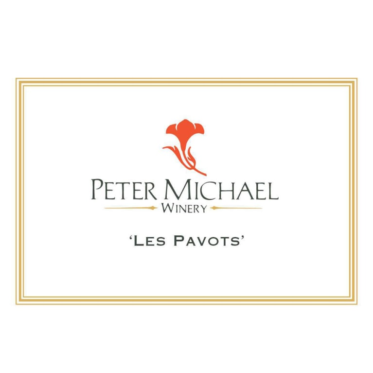 Peter Michael Les Pavots 2015 Front Label