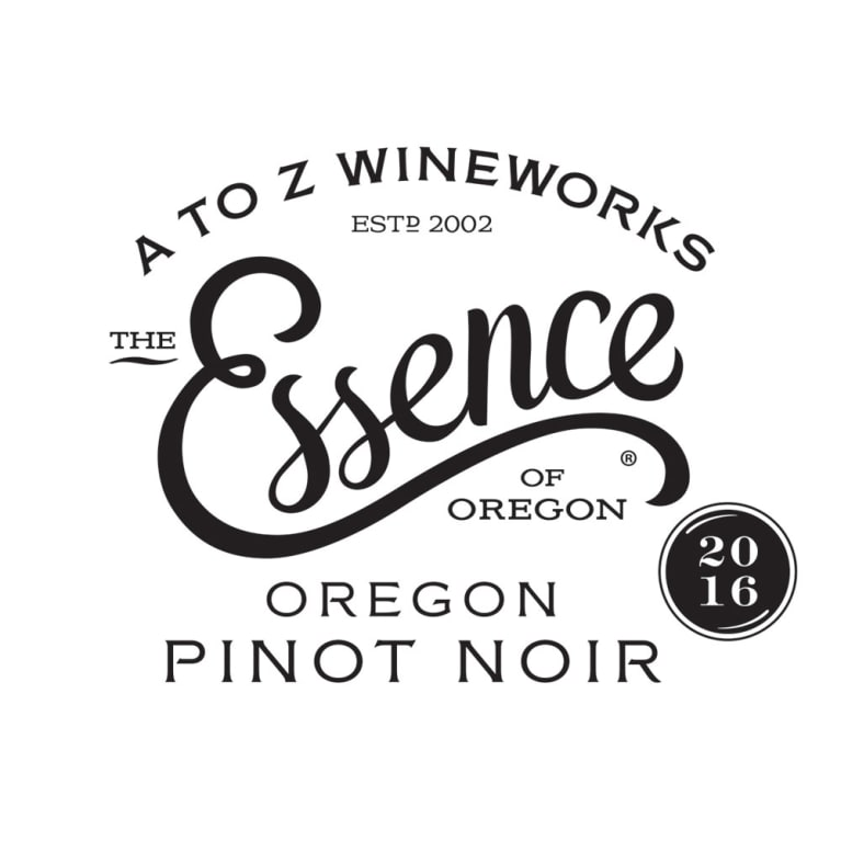 A to Z Essence Pinot Noir 2016 Front Label