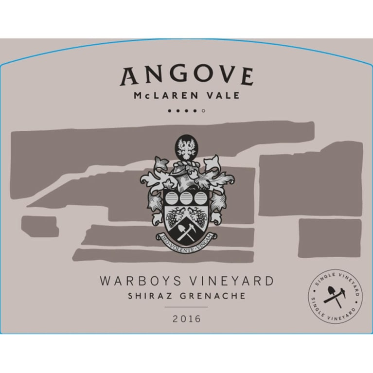 Angove Family Winemakers Warboys Vineyard Grenache 2016 Front Label