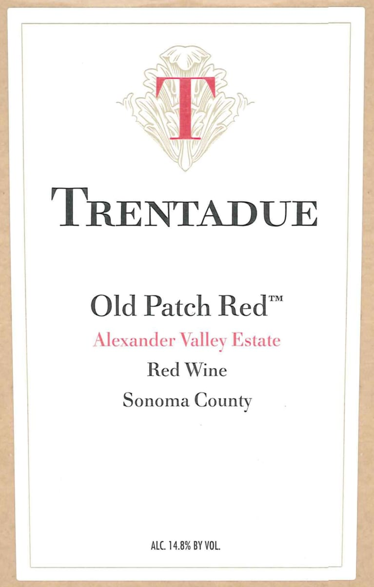 2010 trentadue winery old patch red lot #33, usa, california.