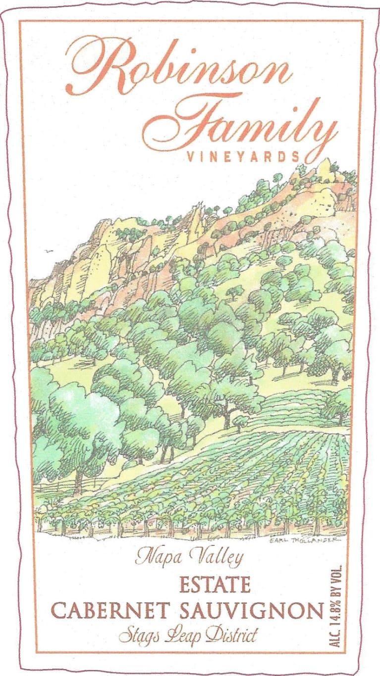 Robinson Family Vineyards Cabernet Sauvignon 2010