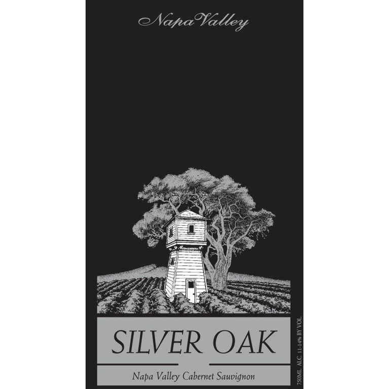 Silver Oak Napa Valley Cabernet Sauvignon 2001 Front Label