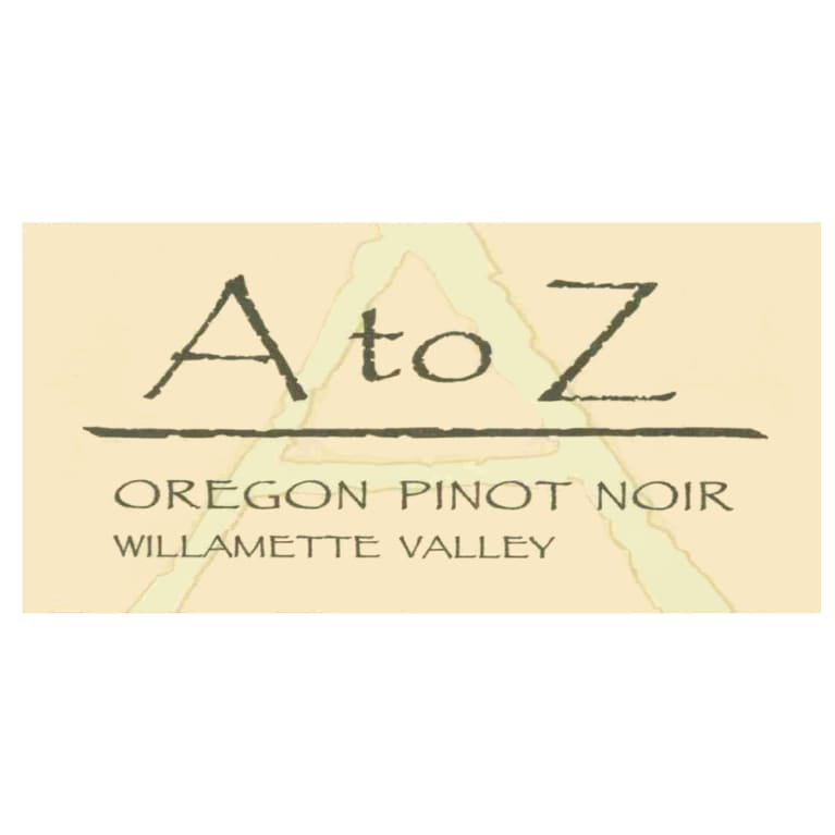 A to Z Pinot Noir 2005 Front Label