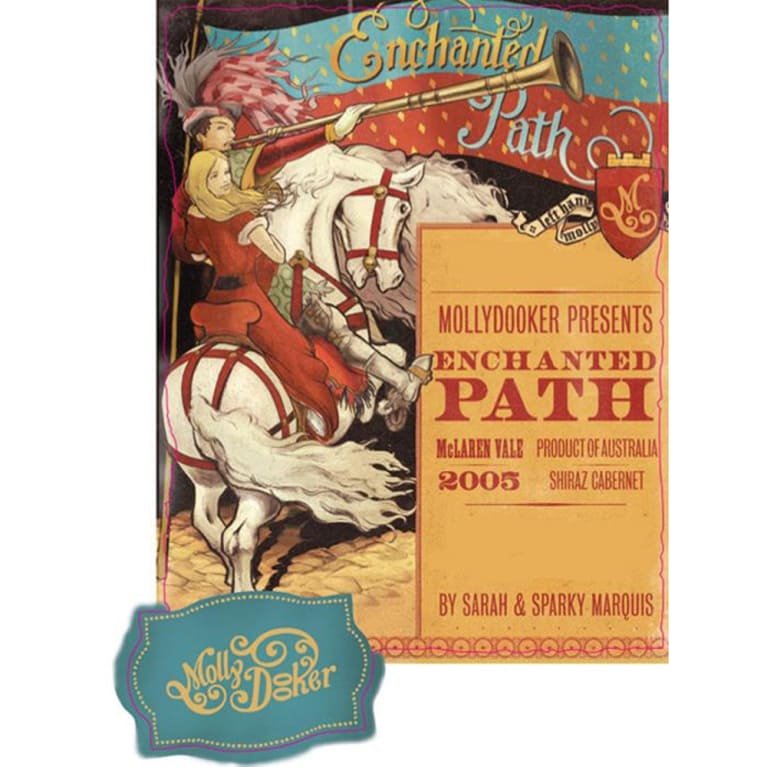 Mollydooker Enchanted Path 2005 Front Label