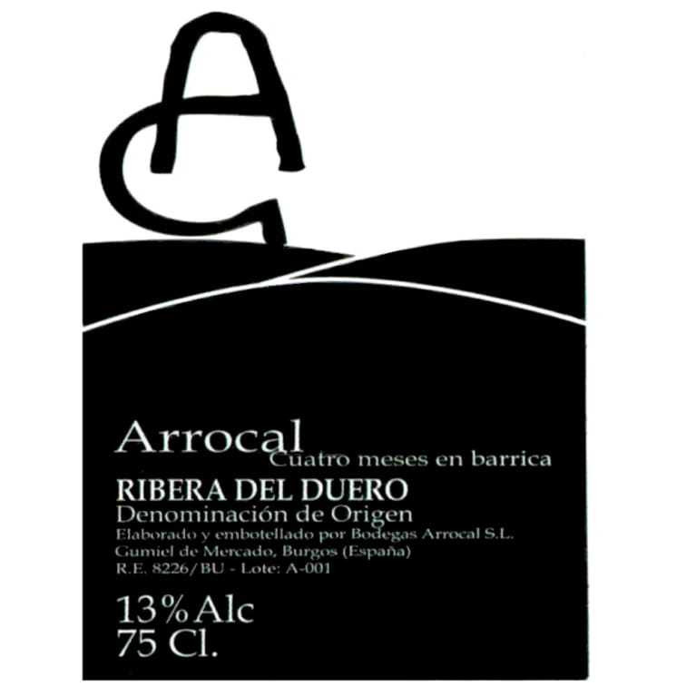 Bodegas Arrocal Arrocal 2005 Front Label