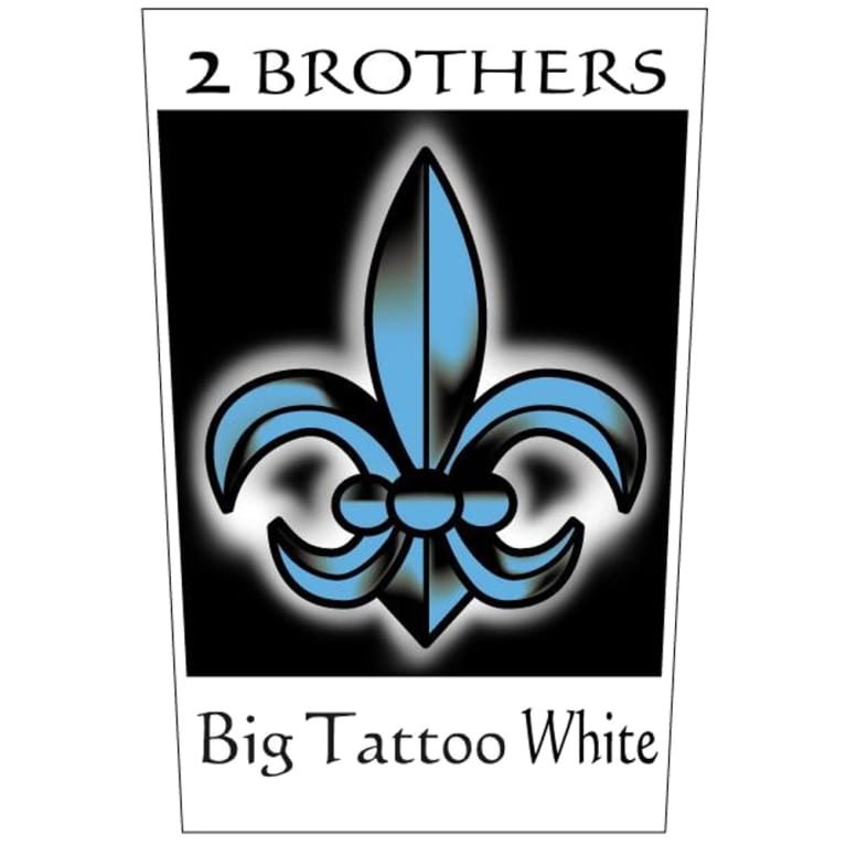 2 Brothers Big Tattoo White 2005 Front Label