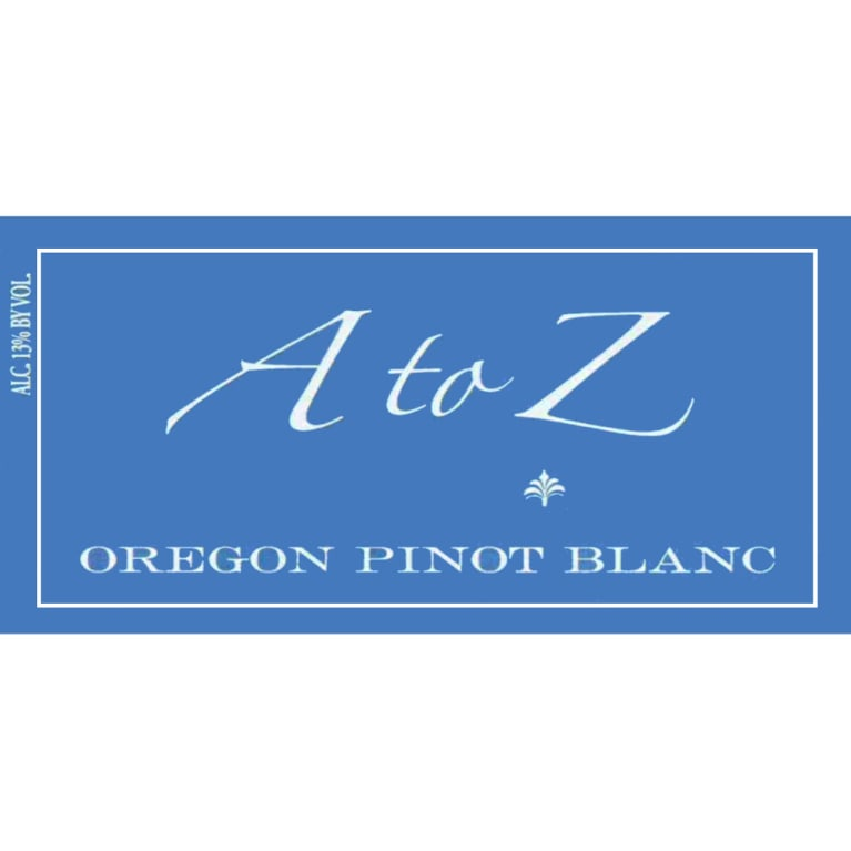 A to Z Pinot Blanc 2006 Front Label