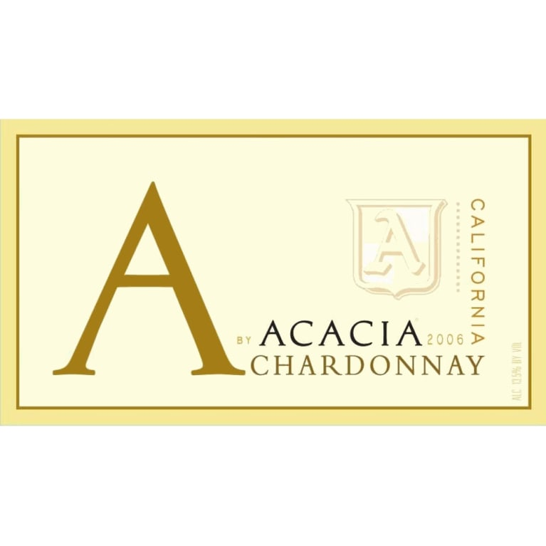 A by Acacia California Chardonnay 2006 Front Label