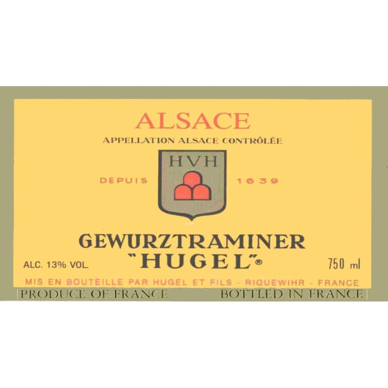 Hugel Gewurztraminer 2006 Front Label