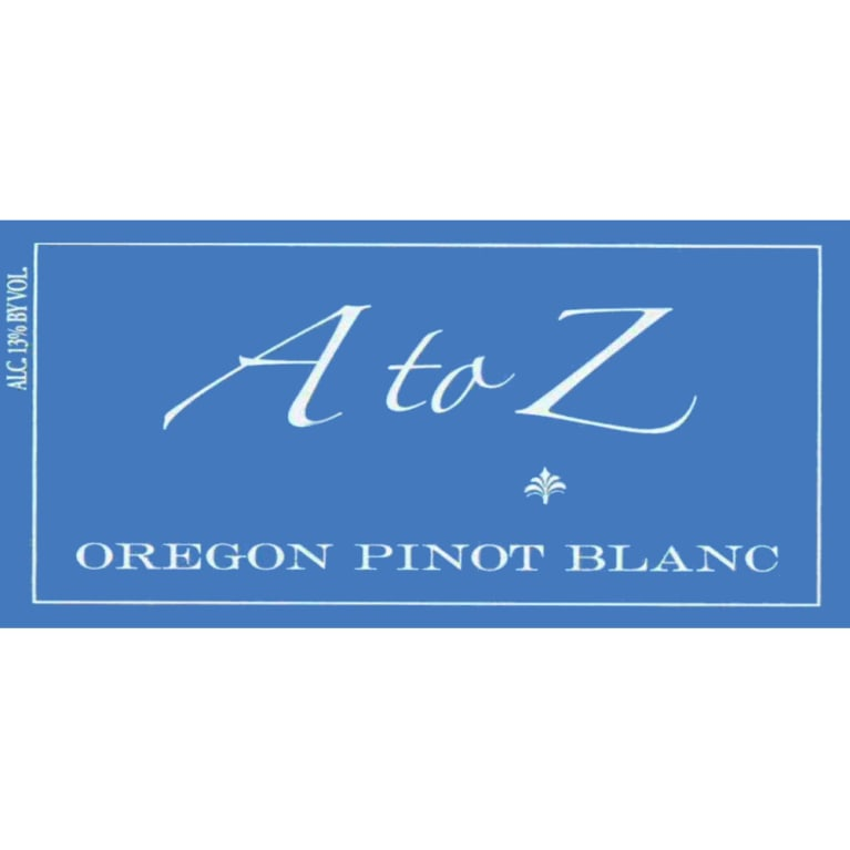 A to Z Pinot Blanc 2007 Front Label