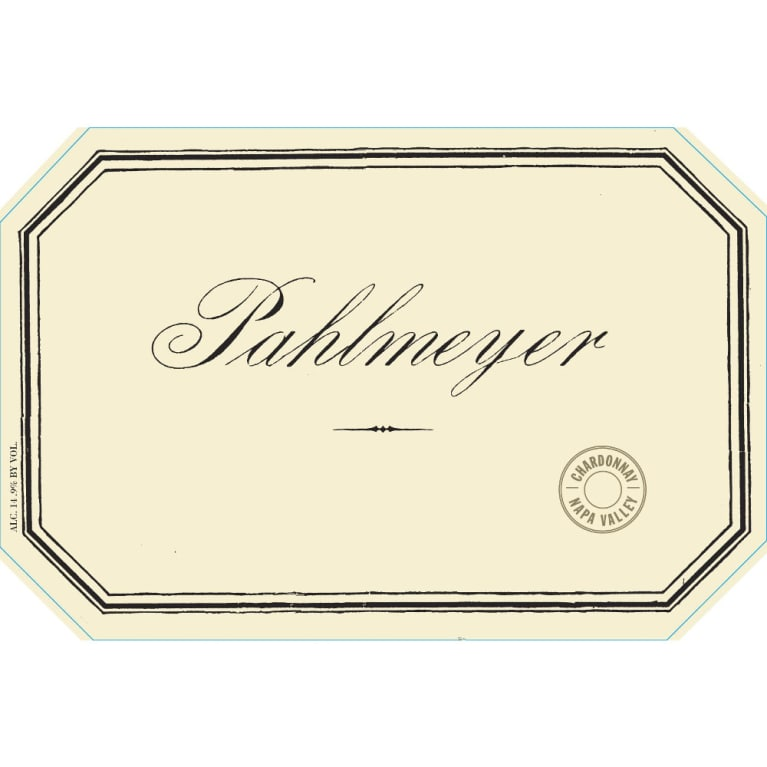 Pahlmeyer Napa Valley Chardonnay 2006 Front Label