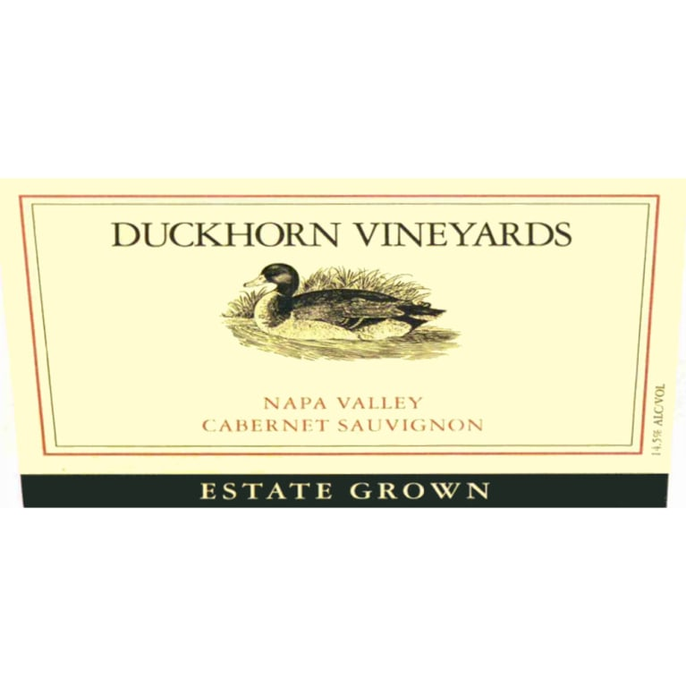 Duckhorn Estate Grown Cabernet Sauvignon 2005 Front Label