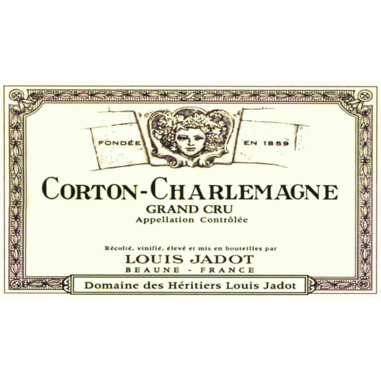 Louis Jadot Corton-Charlemagne 2006 Front Label