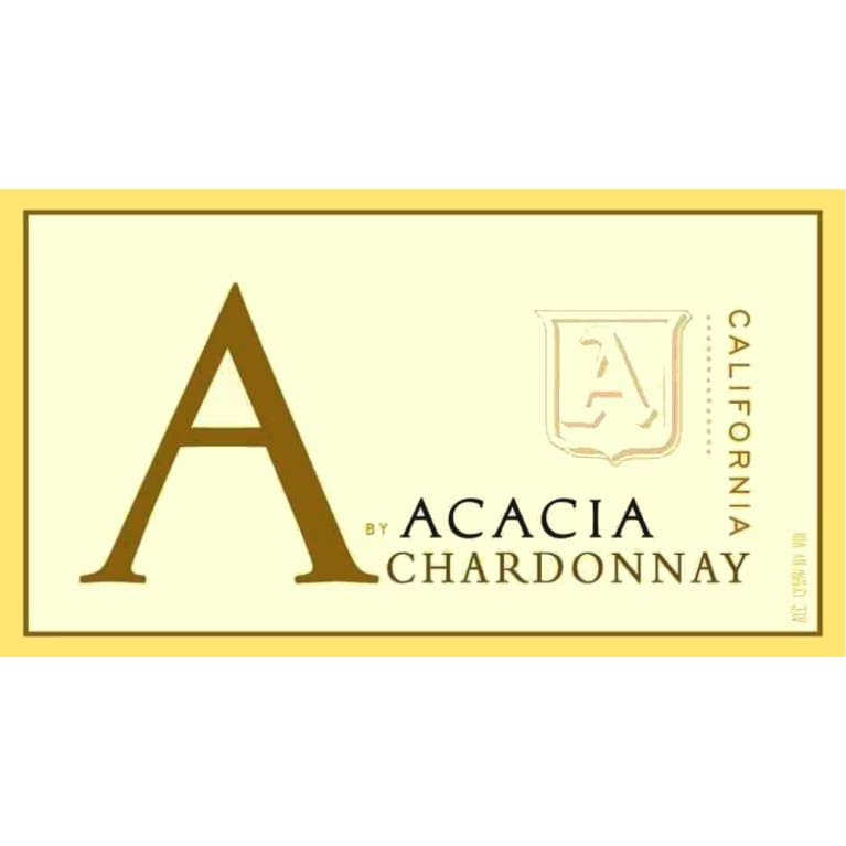 A by Acacia California Chardonnay 2007 Front Label