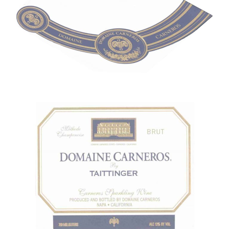 Domaine Carneros Brut 2005 Front Label