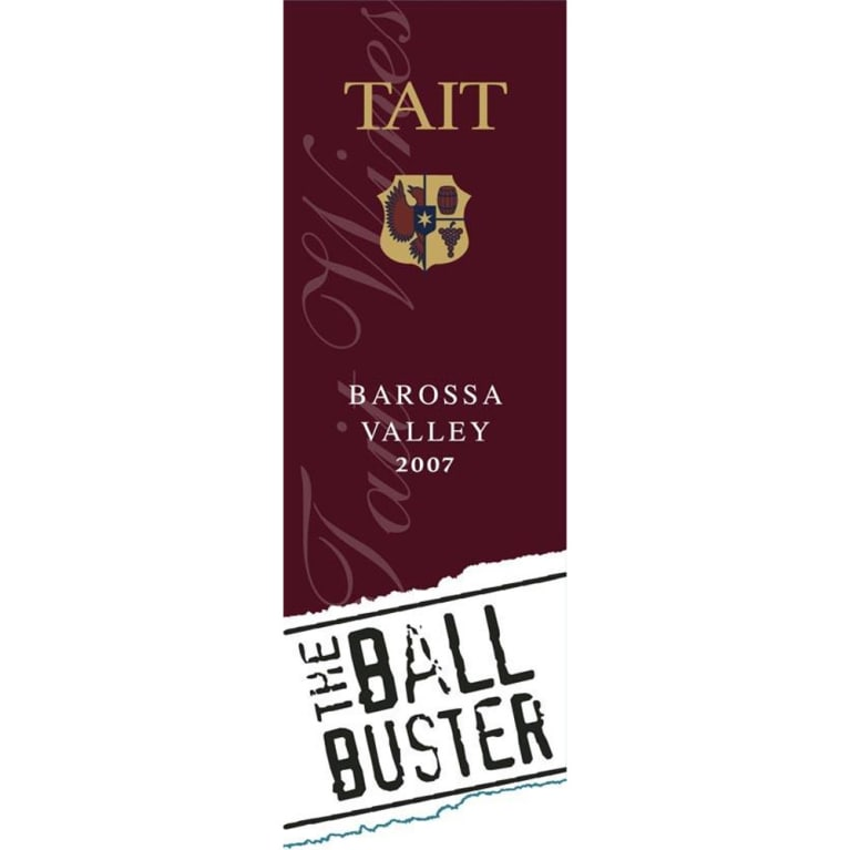 Tait The Ball Buster 2007 Front Label