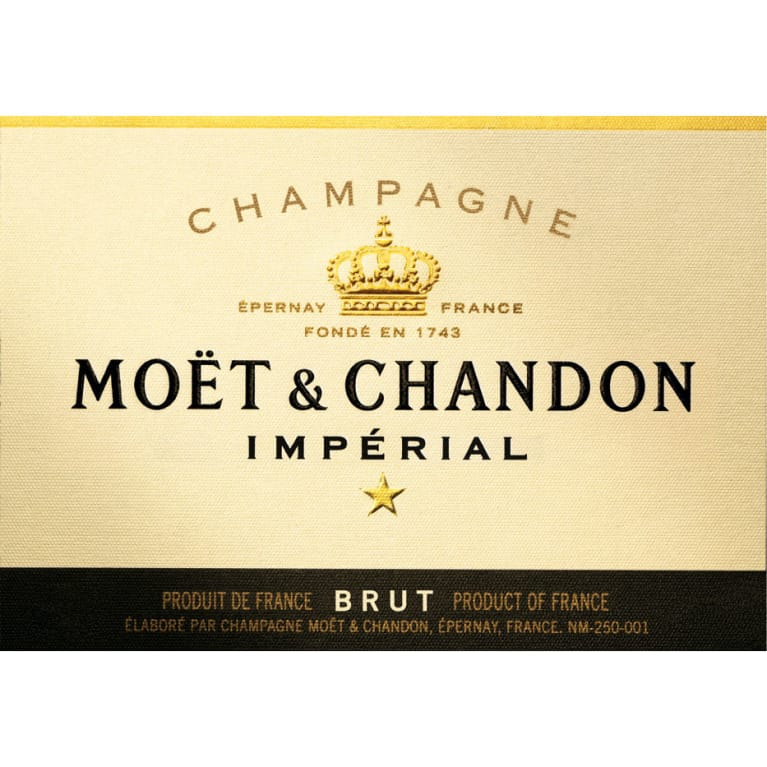 Moet & Chandon Imperial Front Label