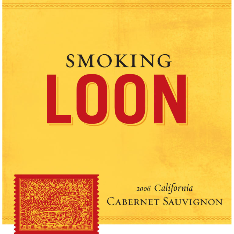 Smoking Loon Cabernet Sauvignon 2006 Front Label