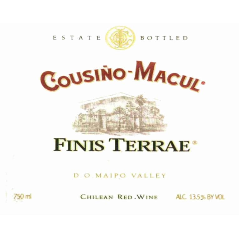 Cousino Macul Finis Terrae 2006 Front Label