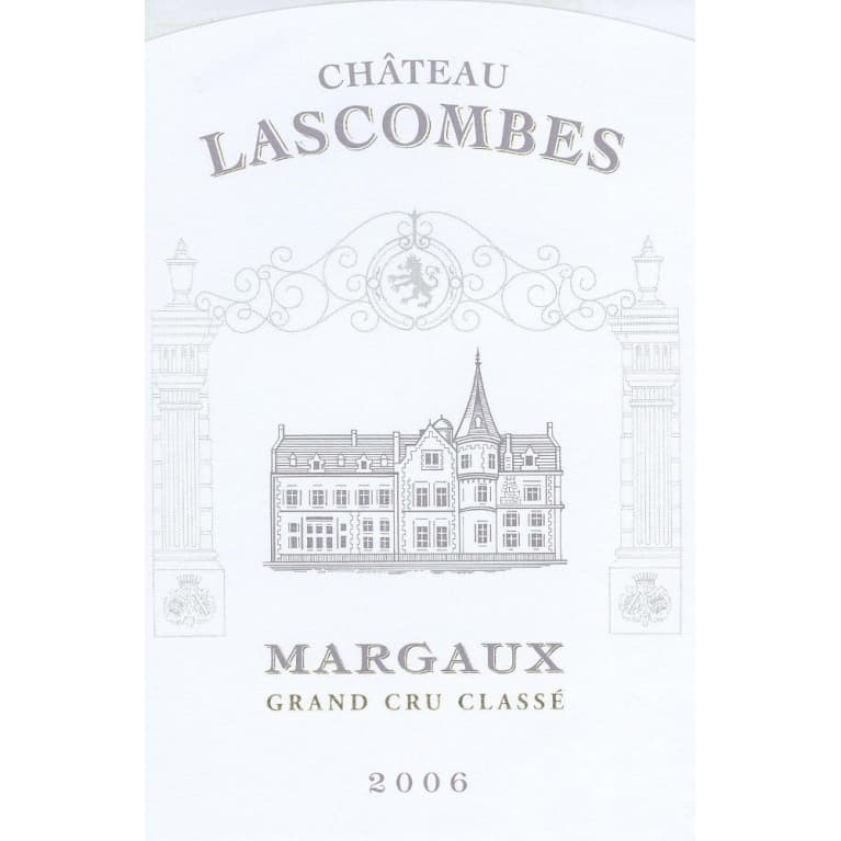Chateau Lascombes  2006 Front Label