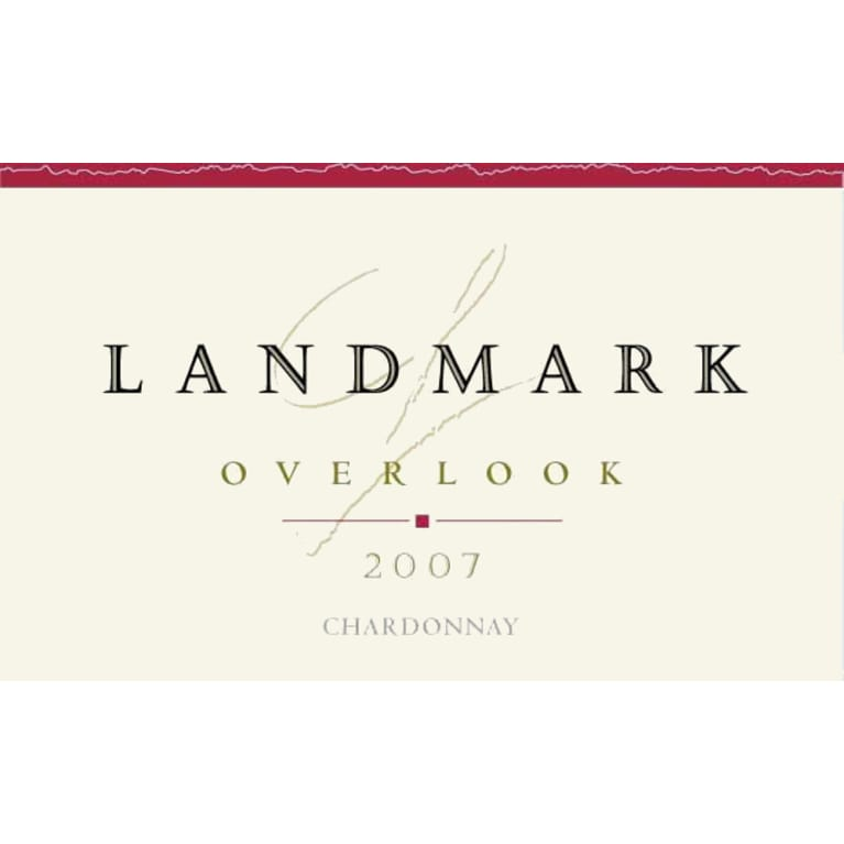 Landmark Overlook Chardonnay 2007 Front Label