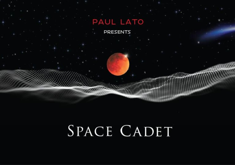 Paul Lato Space Cadet Syrah/Grenache 2018  Front Label
