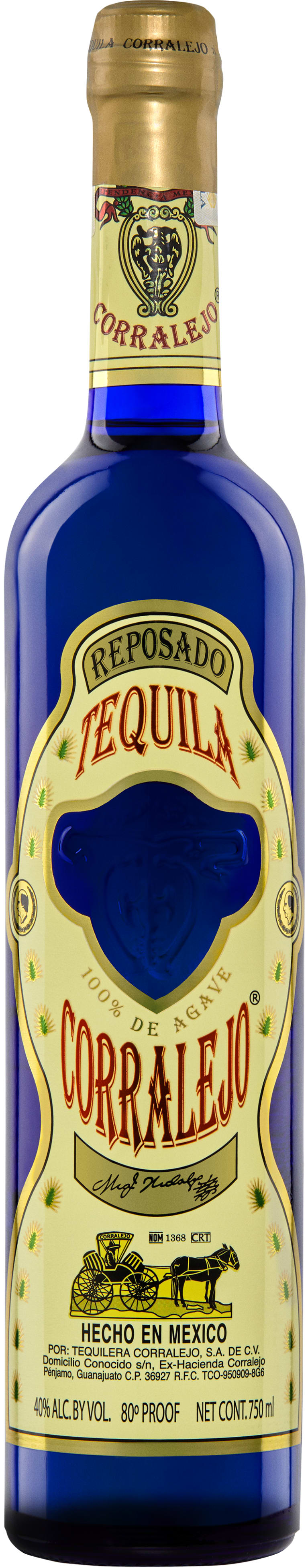 Corralejo Reposado Tequila  Front Bottle Shot
