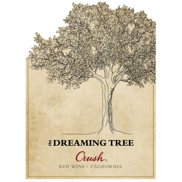 The Dreaming Tree Crush Red Blend 2016  Front Label