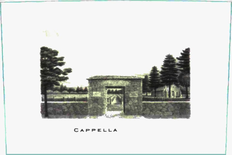 Abreu Vineyards Cappella 2015  Front Label