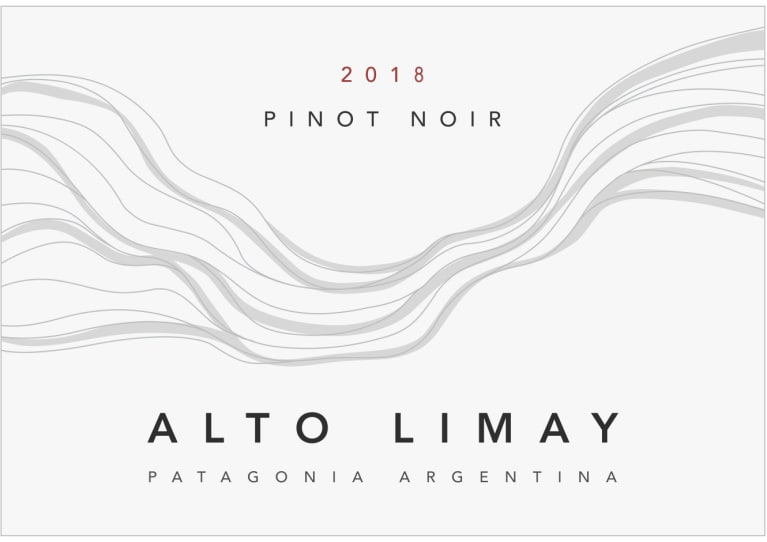 Alto Limay Pinot Noir 2018  Front Label