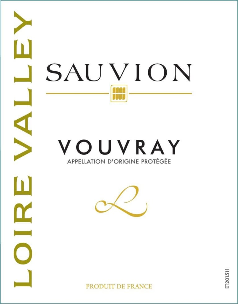 Sauvion Vouvray 2019  Front Label