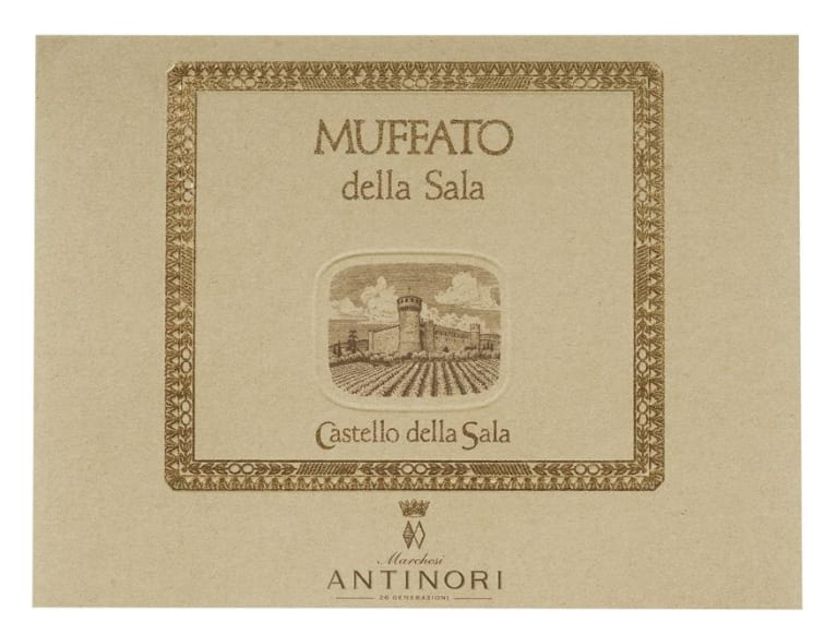 Antinori Muffato (500ml) 2009  Front Label