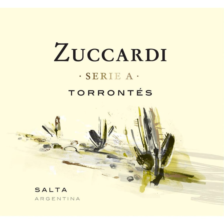 Zuccardi Serie A Torrontes 2018  Front Label