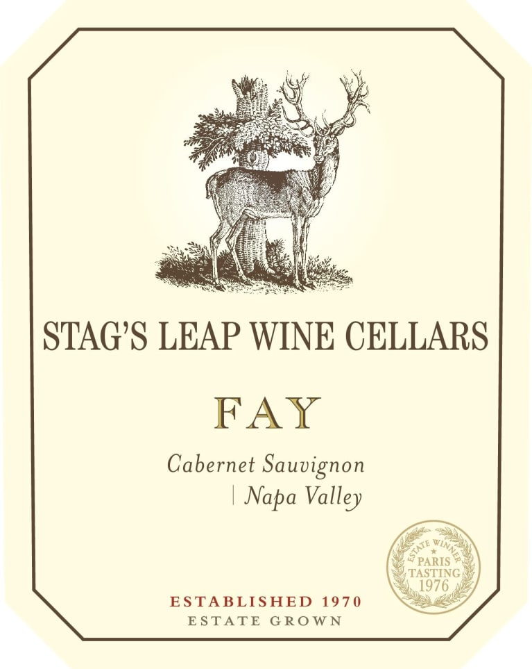 Stag's Leap Wine Cellars Fay Vineyard Cabernet Sauvignon 2017  Front Label