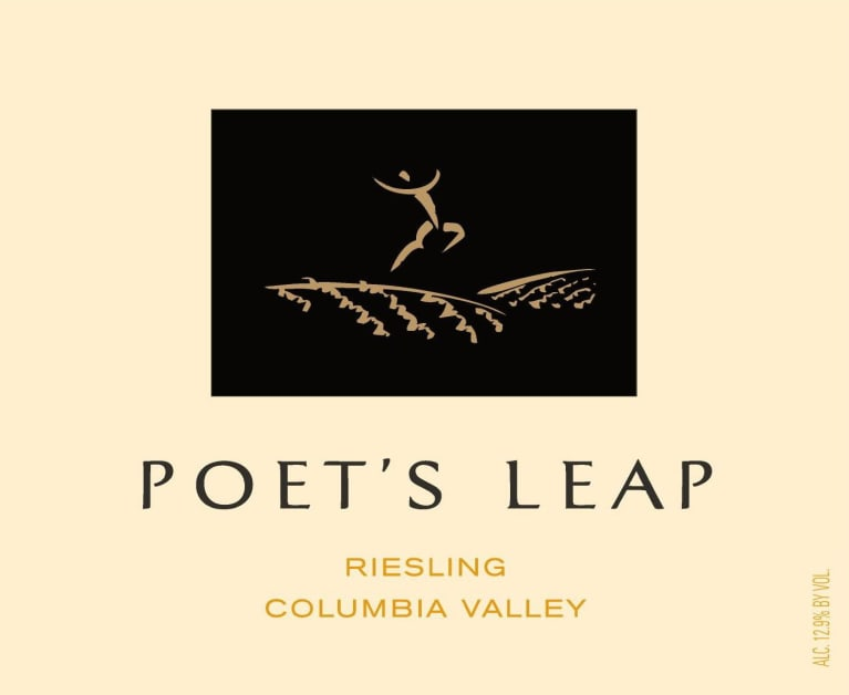 Poet's Leap Riesling (375ML half-bottle) 2016 Front Label