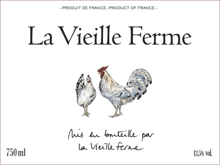 La Vieille Ferme Rouge 2019  Front Label