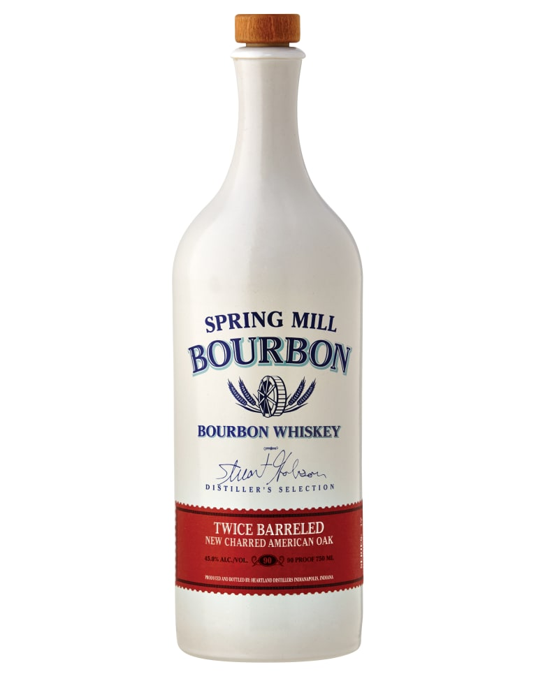 Spring Mill Bourbon Whiskey  Front Bottle Shot