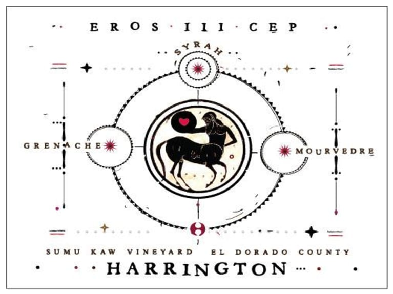 Harrington Eros III Cep Red 2018  Front Label