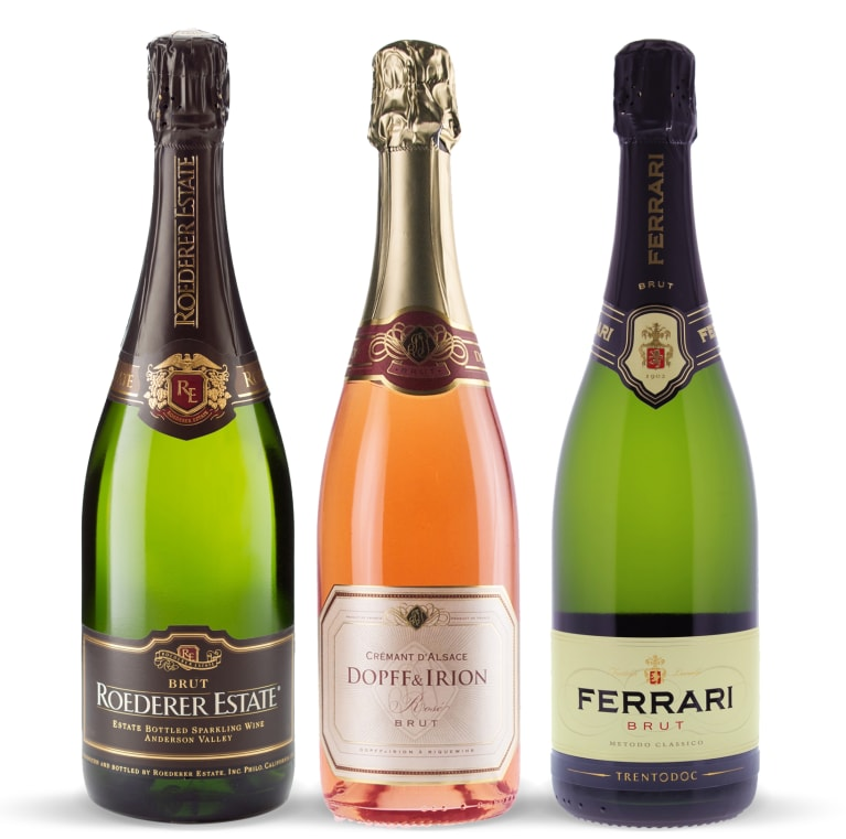wine.com 90 Point Sparkling Wine Gift Set  Gift Product Image