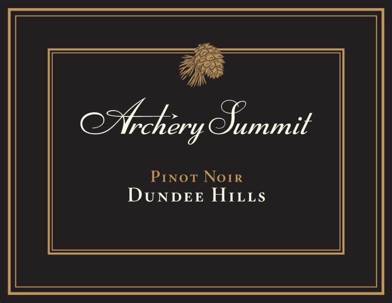 Archery Summit Dundee Hills Pinot Noir 2018  Front Label