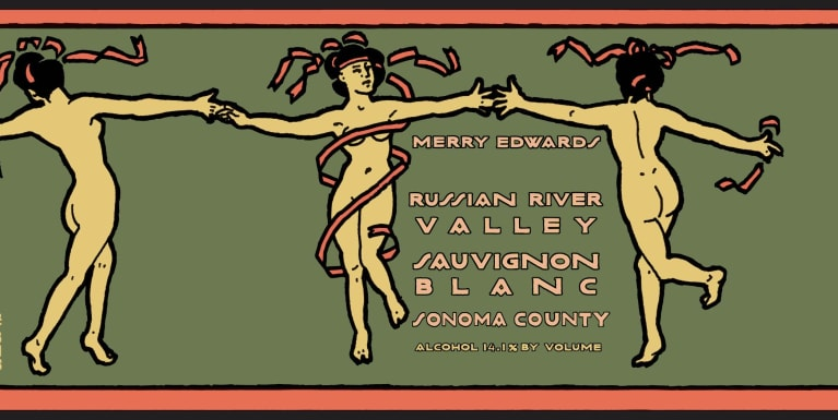 Merry Edwards Sauvignon Blanc 2017  Front Label