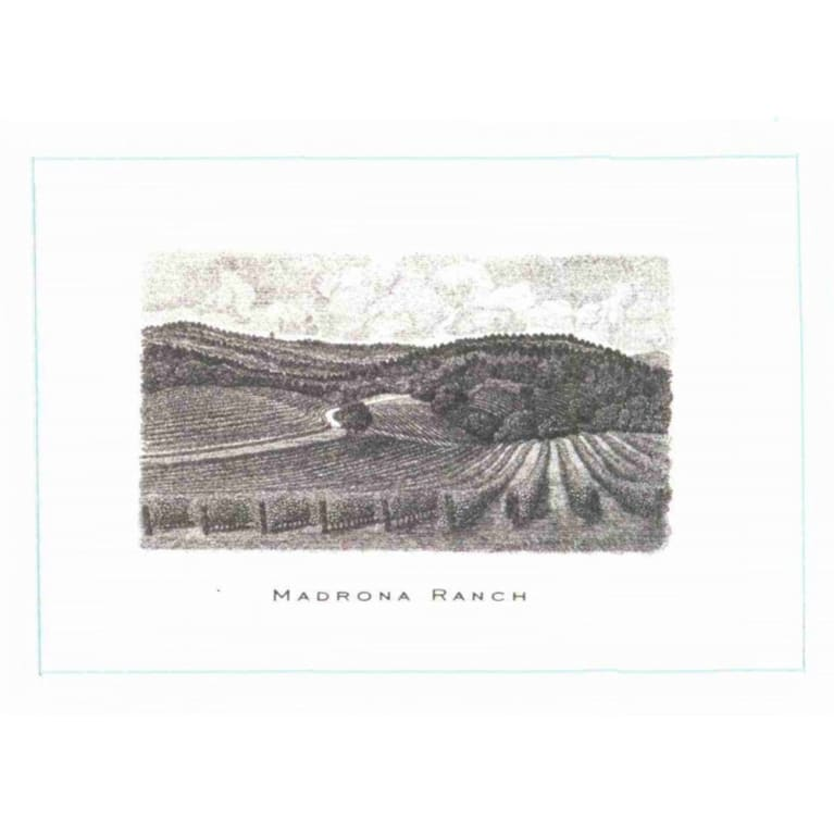 Abreu Vineyards Madrona Ranch 2008  Front Label