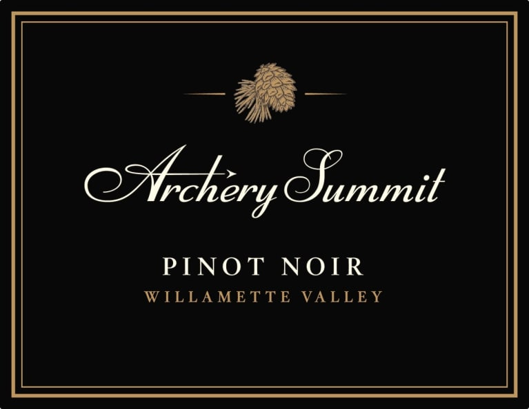 Archery Summit Willamette Valley Pinot Noir 2018  Front Label