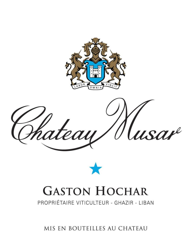 Chateau Musar Lebanon Blanc 2009 Front Label