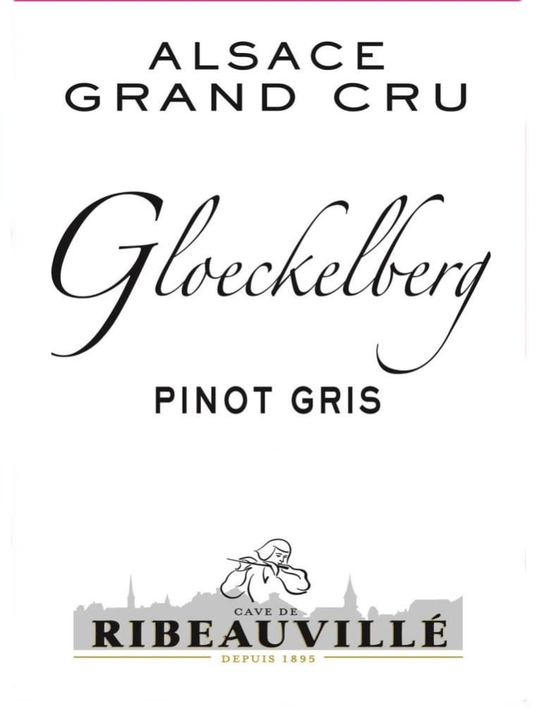 Cave de Ribeauville Pinot Gris Gloeckelberg Grand Cru 2011  Front Label