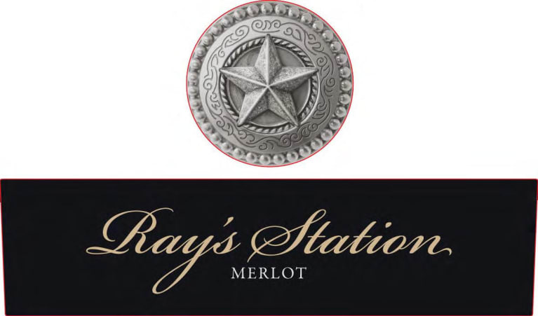 Ray's Station Merlot 2014 Front Label