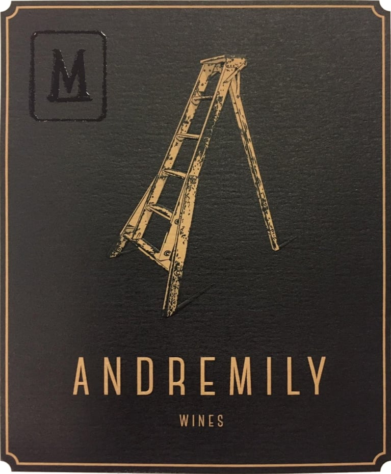 Andremily Mourvedre 2017  Front Label